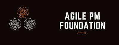 Agile project management Certyfikat